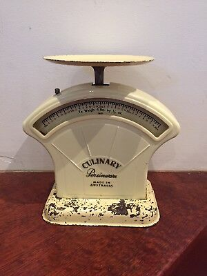 VINTAGE Persinware Culinary Kitchen Scales - Australian Made