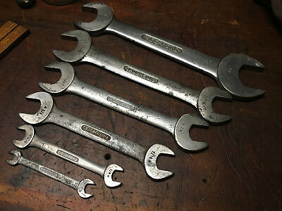 "Vintage Sidchrome 7/8"" - 1/8"" Whitworth Open End Spanner made in Australia"