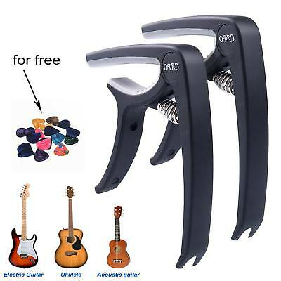 Guitar Tuner Clamp - Trigger Capo for Acoustic & Electric & Classical