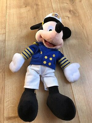 Disney Cruise Line Mickey Mouse Soft Toy