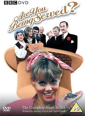 ARE YOU BEING SERVED COMPLETE SERIES 9 DVD Ninth Season Mollie Sugden UK New R2