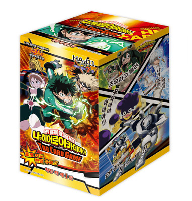 My Hero Academia Expansion pack Box Vol.1 / Korean ver / 175 cards