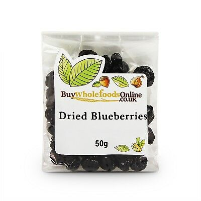 Dried Blueberries 50g