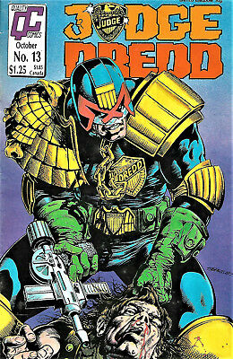 Judge Dredd #13 (Quality Comics)