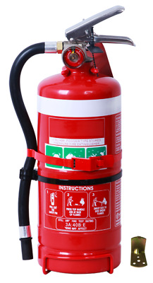 FIRE EXTINGUISHER - 2.5kg ABE (DCP) Dry Chemical Powder Fire Extinguisher