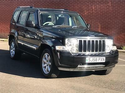 2008 Jeep Cherokee 2.8 TD Limited 4x4 5dr