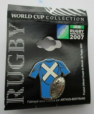 Scotland Rugby Union Pin Badge from the 2007 iRB Rugby World Cup in France
