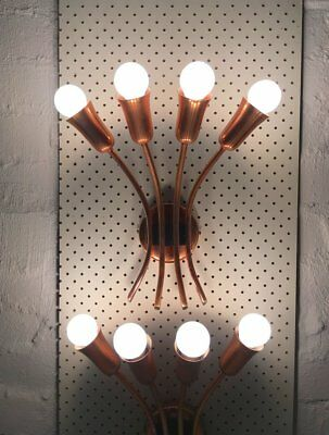 BECO (Brown Evans And Co.) Copper Wall Sconces For Anatol Kagan, Melbourne 1950s