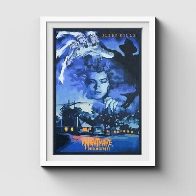 Premium Poster Paper A Nightmare On Elm StreetLARGE 24X36 MOVIE POSTER