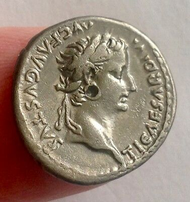 Tiberius - A Superb Tribute Penny !