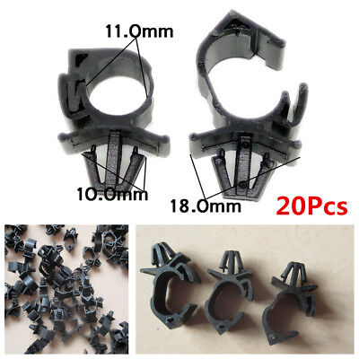 20X 11mm Auto Oil Pipe Beam Line clip/Universal Type Car Wiring Harness Fastener