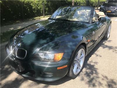 1997 BMW Z3  1997 BMW Z3 2.8L 86,898 Miles Dark Green Convertible Straight 6 Cylinder E