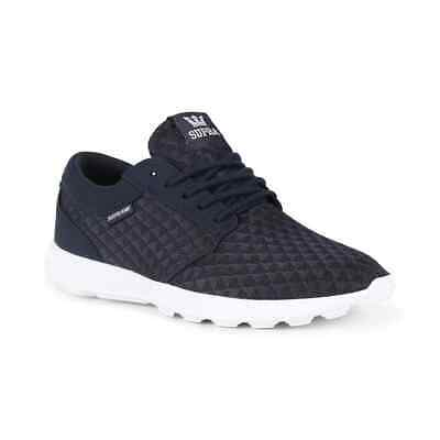 Supra Hammer Run Shoes - Navy / Lt Grey / White
