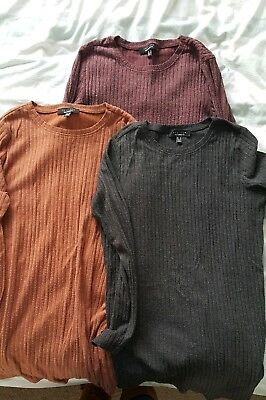 3 New Look Maternity Jumpers size 10