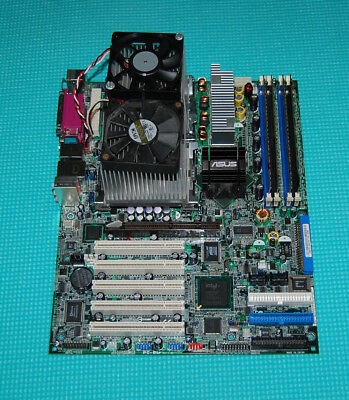 ASUS PC-DL Deluxe 875P Dual 603/604 Xeon Motherbaord + Two 2.8GHz CPUs + 2GB RAM