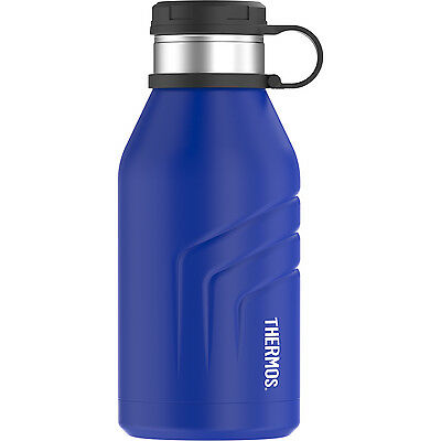 Thermos Element5 Stainless Steel Insulated Beverage Bottle w/Screw Top 32oz Blue