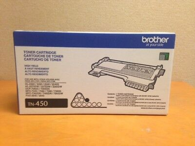 Brother TN-450 TN450 High Yield Toner Cartridge