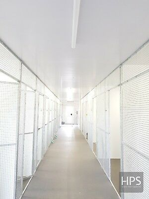 Kennel and cattery 8 x 4 PVC hygienic wall boards 1220 x 2440