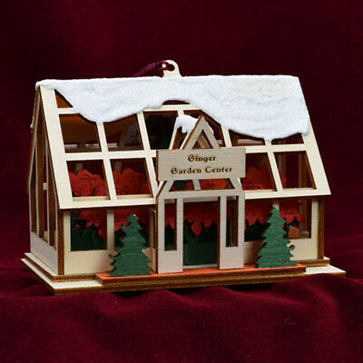 Ginger Cottages Ginger Garden Center GCC139 NIB