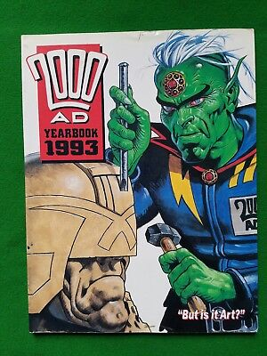 2000AD 1993 Yearbook