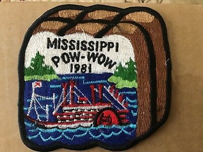 1981 Mississippi ROYAL RANGERS Pow Wow Patch