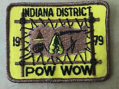 1979 Indiana ROYAL RANGERS Pow Wow Patch