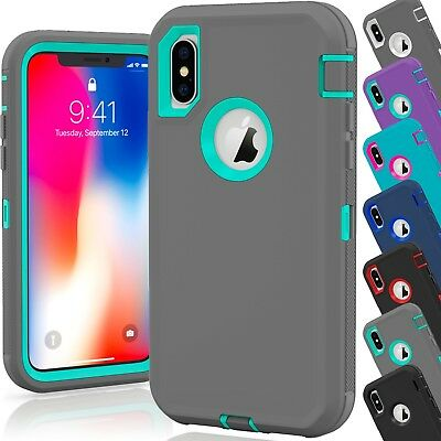 15 Shockproof Defender Hybrid Hard Case Wholesale Lot For Apple iPhone 10 XS Max