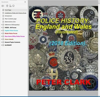 Police History: England and Wales (illustrated)digital book. SPECIAL REDUCED