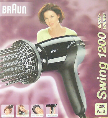 Braun Swing 1200 - Supervolume  - neu!