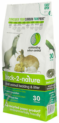 Back 2 Nature Small Animal Bedding 30ltr Small Animal Bedding 9.4kg
