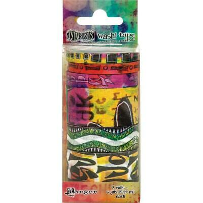 Dylusions Washi Tape - Set 6 - 7 Rolls - NEW!