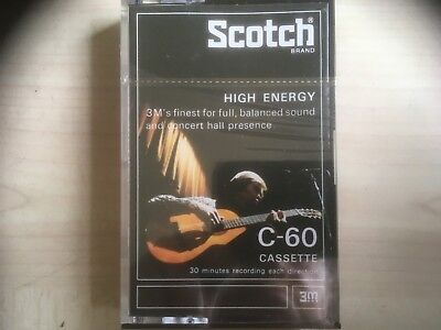 Scotch High Energy C-60 Factory Sealed Audio Cassette Japan