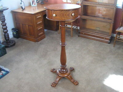 Antique Shaving Stand Without Mirror