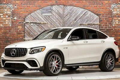 2018 Mercedes-Benz AMG GLC 63 AMG GLC63 S Coupe Performance 4MATIC+ 18 AWD SUV 503 hp Turbo V8 21 Inch Wheels Exhaust Advanced Lighting Parking