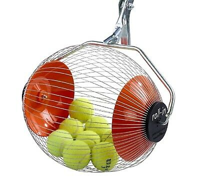 Kollectaball K-Max 60 Ball Collector Max | Ball Picker Upper for Tennis,
