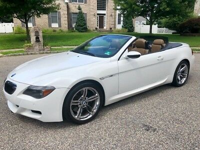2007 BMW M6 Base Convertible 2-Door Rare Combination - Garage Kept with All Records Runs Great - No Reserve