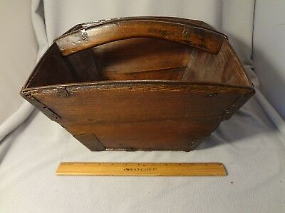 Antique Chinese Rice Basket