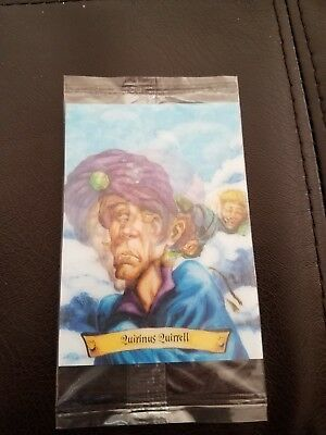 Harry Potter Quirinus Quirrell Chocolate Frog Trading Card NEW