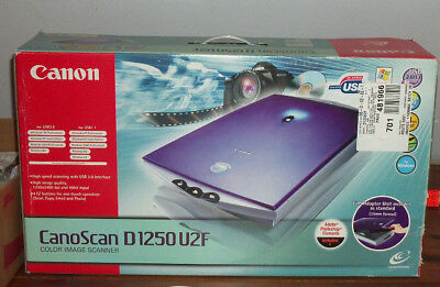 CANON CANOSCAN D1250U2F DRIVER FOR MAC DOWNLOAD