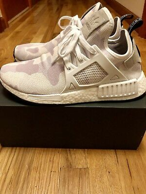 587acb85fdcca Adidas NMD XR1 White Duck Camo size 9 Men s Like Brand New Condition w  OG