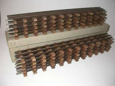 Keiser Zug No: 212 rails.Scale 0. 10 pieces with all connectors.