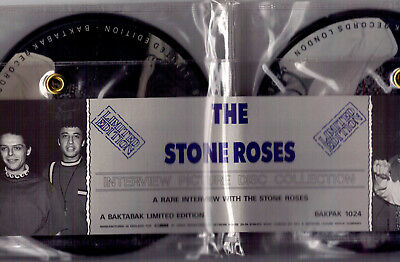 The Stone Roses ‎- A Rare Interview With The Stone Roses - 4 x 7'' Picture Discs