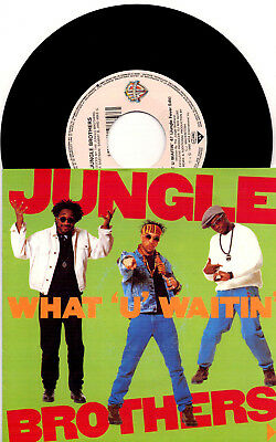 Jungle Brothers ‎- What U Waitin' 4 / Promo No. 2 (Mind Review '89) - 7'' Vinyl
