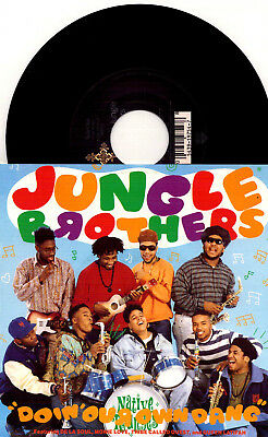 Jungle Brothers ‎- Doin' Our Own Dang / Doin' Our Own Dang (Album Edit) - 7''