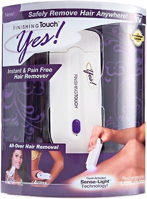 Hair Remover Instant Pain Free rechargeable Woman Yes Finishing Touch Seen TV
