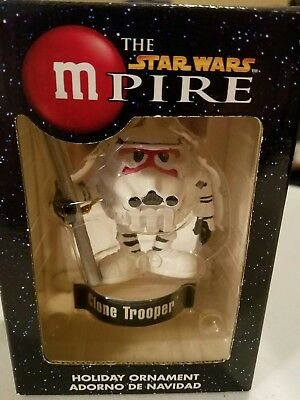 M& M Star Wars Clone Trooper Holiday Ornament