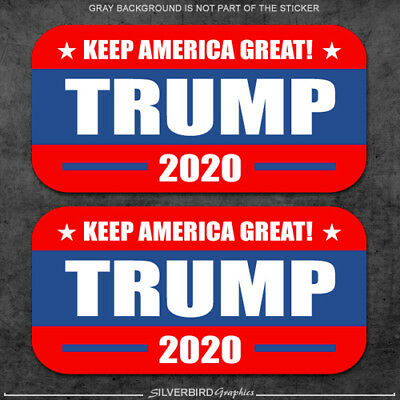 Trump 2020 Hard Hat Stickers Decal Vote USA Elect America President Helmet vinyl