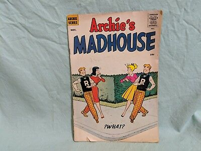 Archie's Madhouse #2 (Nov 1959) - 10 Cents Cover