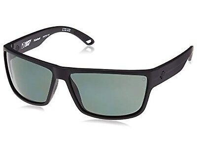 9633a95c8b SPY optic Rocky Sunglasses Matte Black Happy Gray Green Polarized  673248374864