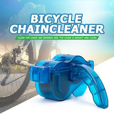 Cycling Bicycle Chain Cleaner Bike Cleaning Machine Brushes Scrubber Wash Tool